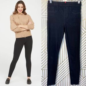 Spanx Jean-ish Ankle Leggings in Black